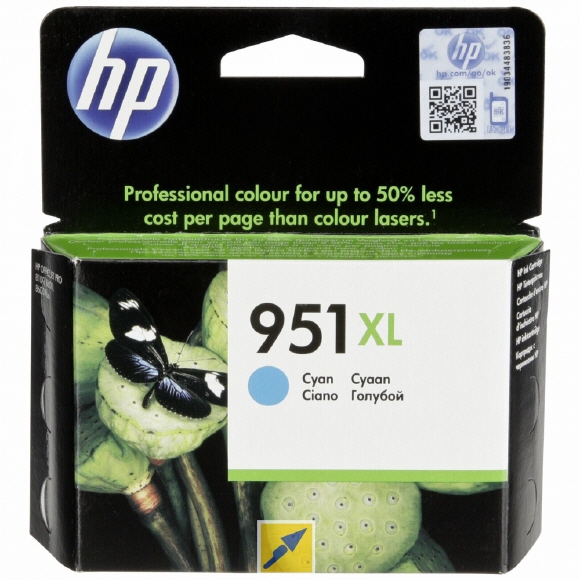 HP Tinte 951XL (Cyan)